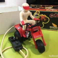 Juguetes antiguos: MOTO HONDA TAC 250R CLIM,PAYA,JYESA,RICO,SANCHIS. Lote 148874836