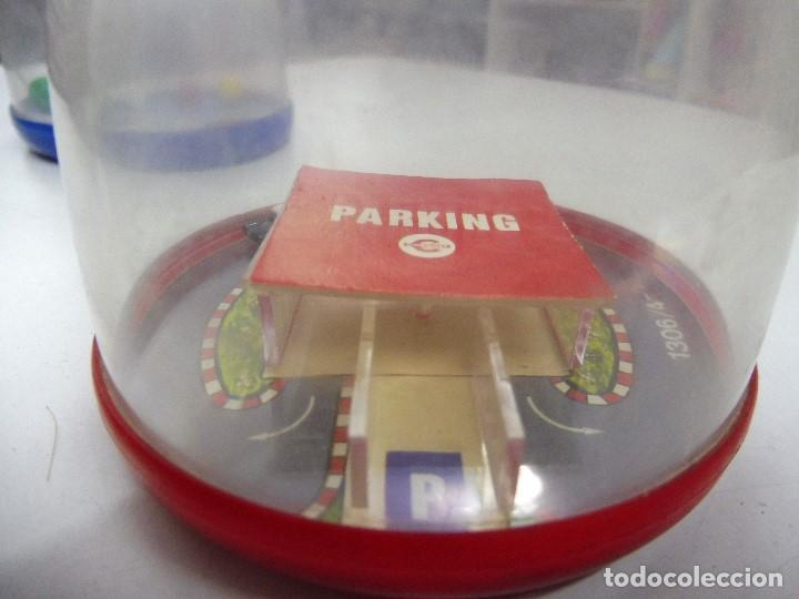 Juguetes antiguos: Congost los imposibles parking coche policía ref. 1306/4-1 1973 made in Spain juego habilidad (MJ) - Foto 3 - 175114273