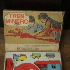 Juguetes antiguos: TREN MINERO GEYPER. Lote 149534534