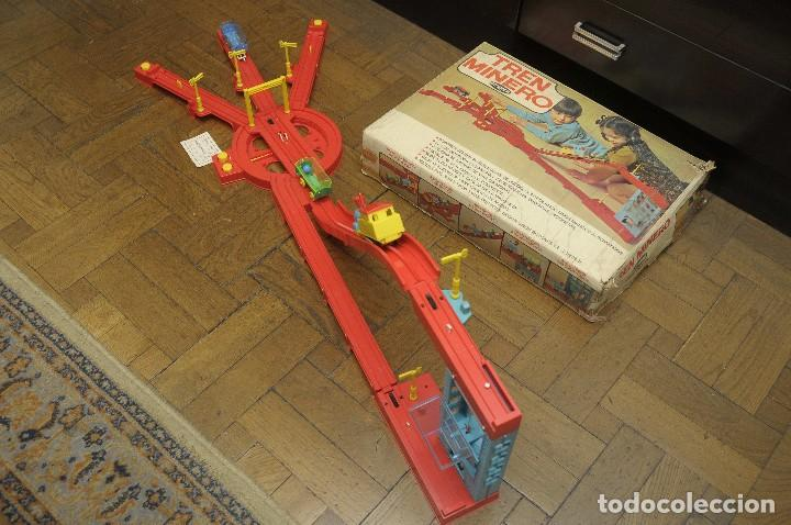 Juguetes antiguos: tren minero Geyper - Foto 3 - 149534534