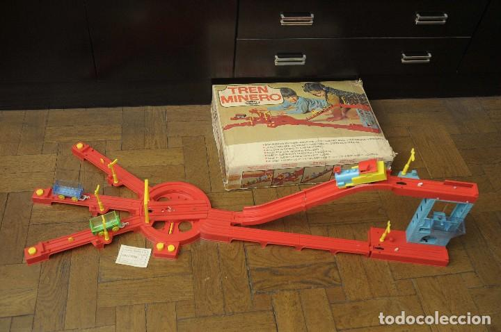 Juguetes antiguos: tren minero Geyper - Foto 4 - 149534534