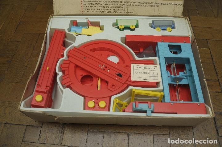 Juguetes antiguos: tren minero Geyper - Foto 5 - 149534534