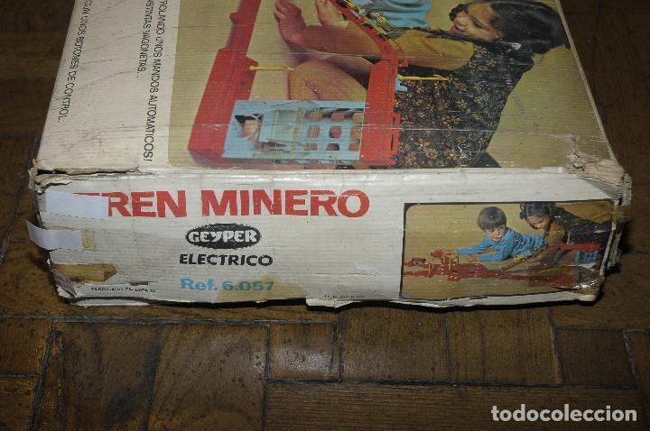 Juguetes antiguos: tren minero Geyper - Foto 6 - 149534534