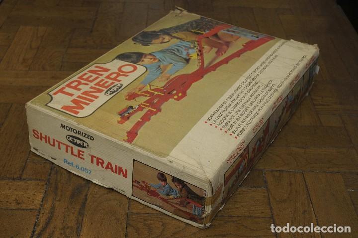 Juguetes antiguos: tren minero Geyper - Foto 11 - 149534534