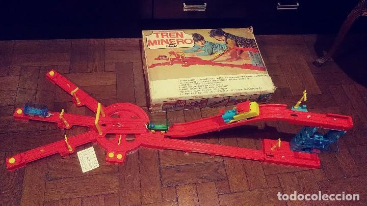 Juguetes antiguos: tren minero Geyper - Foto 12 - 149534534