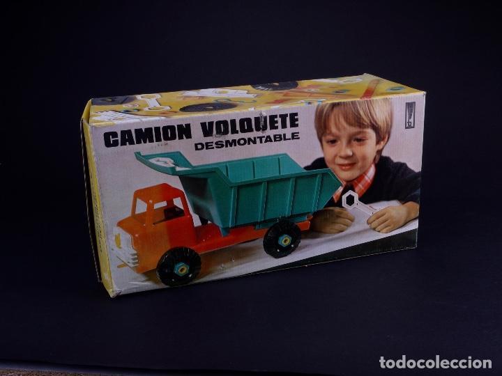 Juguetes antiguos: CAMIÓN VOLQUETE DESMONTABLE CP - Foto 7 - 150012122