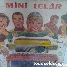 Juguetes antiguos: MINI TELAR DE PUCH. Lote 150590766