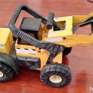 Camión excavadora Tonka de metal. Gran tamaño. 1999 Hasbro D-048-02