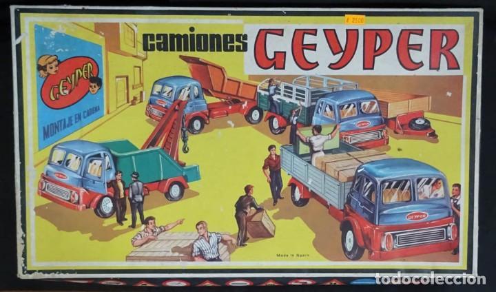 GEYPER MONTAJE DE CAMIONES CAJA REF 503 (Juguetes - Marcas Clasicas - Otras Marcas)