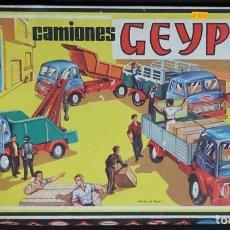 Juguetes antiguos: GEYPER MONTAJE DE CAMIONES CAJA REF 503. Lote 151649782