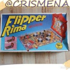 Juguetes antiguos: JUEGO FLIPPER RIMA ELECTRICO ROBOT VER FOTOS PARA ESTADO. Lote 151862094