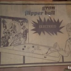 Juguetes antiguos: ANTIGUO FLIPPER BALL DE LA CASA RIMA, AÑOS 70(NUEVO). Lote 152226970