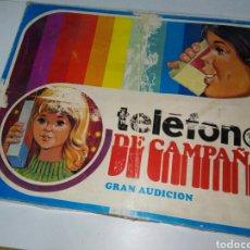 Juguetes antiguos: TELEFONO DE CAMPAÑA RIMA. Lote 152497302