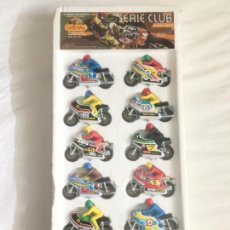 Juguetes antiguos: GUISVAL MOTOS BLISTER SIN ABRIR SERIE CLUB . Lote 152543858