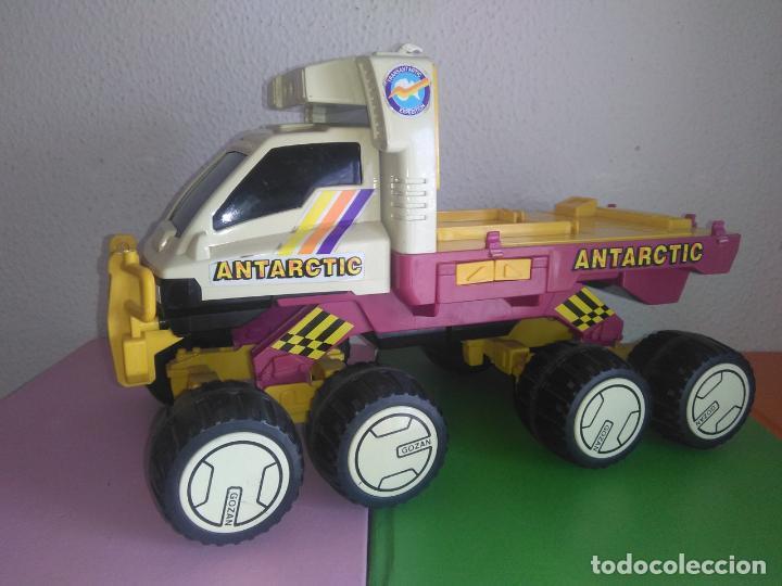 Juguetes antiguos: Coche camión gozan VEHICULO ANTARTIC made in Spain cg3 - Foto 3 - 153211374