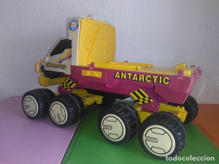 Juguetes antiguos: Coche camión gozan VEHICULO ANTARTIC made in Spain cg3 - Foto 4 - 153211374