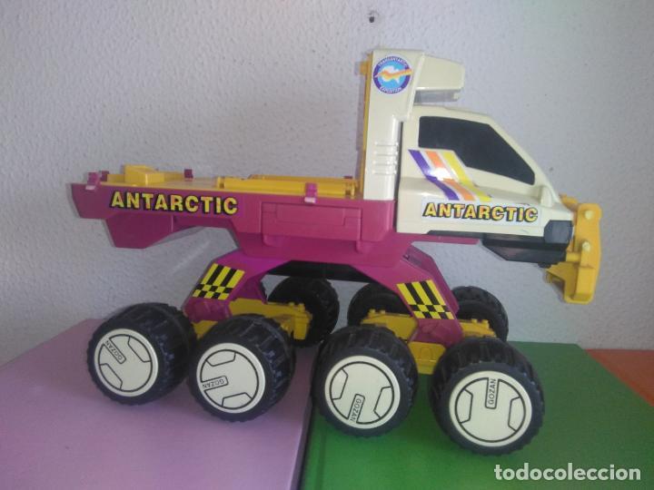 Juguetes antiguos: Coche camión gozan VEHICULO ANTARTIC made in Spain cg3 - Foto 7 - 153211374