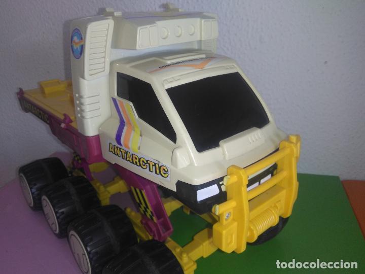 Juguetes antiguos: Coche camión gozan VEHICULO ANTARTIC made in Spain cg3 - Foto 8 - 153211374