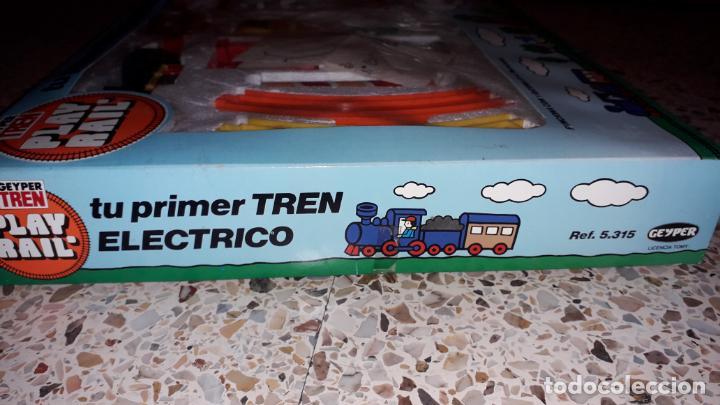 Juguetes antiguos: GEYPER TREN ELECTRICO,. MI PIRMER TREN ELECTRICO, JUGUETE ANTIGUO, TREN ANTIGUO - Foto 3 - 153582294