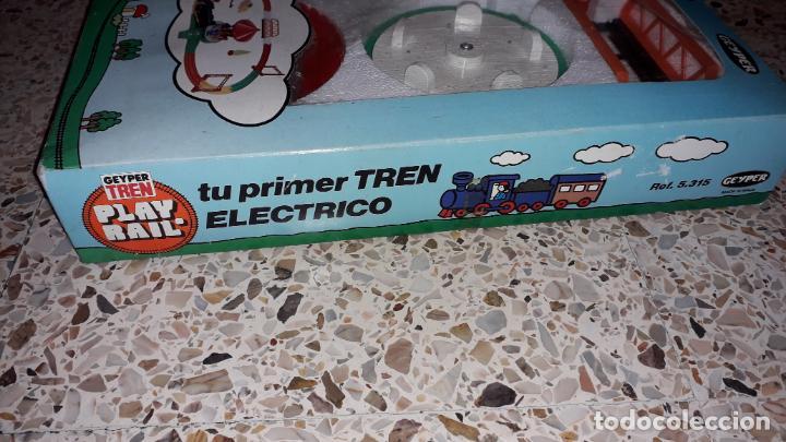 Juguetes antiguos: GEYPER TREN ELECTRICO,. MI PIRMER TREN ELECTRICO, JUGUETE ANTIGUO, TREN ANTIGUO - Foto 4 - 153582294