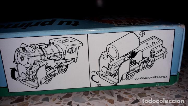Juguetes antiguos: GEYPER TREN ELECTRICO,. MI PIRMER TREN ELECTRICO, JUGUETE ANTIGUO, TREN ANTIGUO - Foto 7 - 153582294