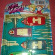Brinquedos antigos: COPA DEL MUNDO SHAMBERS MADE IN SPAIN A ESTRENAR. Lote 153606794