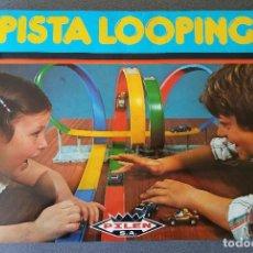 Juguetes antiguos: PISTA LOOPING PILEN. Lote 153867378