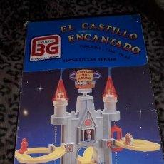 Juguetes antiguos: BERNABEU GISBERT EL CASTILLO ENCANTADO, TREN BERNABEU GISBERT, JUGUETE ANTIGUO. Lote 154330478