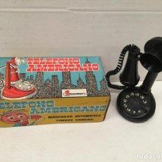Juguetes antiguos - JUGUETE TELEFONO AMERICANO DE SHAMBERS AÑOS 70 - 154697474