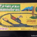Juguetes antiguos: INERGA TREN DE MANIOBRAS. Lote 154815074