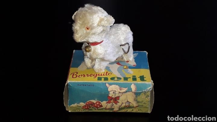 Juguetes antiguos: Artículo promocional, Detergente Norit el Borreguito, M.I. Mecánica Ibense, IBI, original años 60. - Foto 2 - 155184762