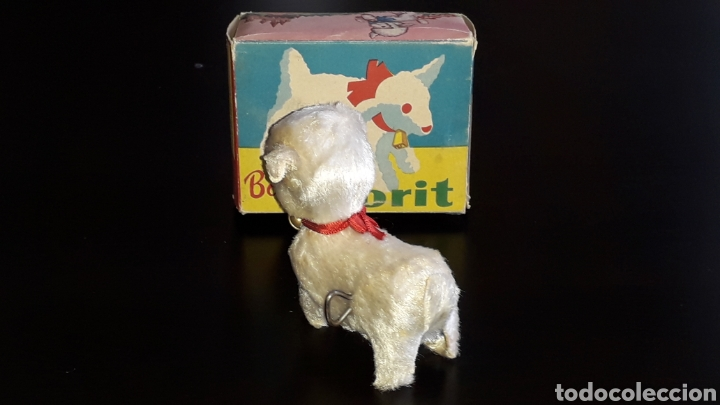 Juguetes antiguos: Artículo promocional, Detergente Norit el Borreguito, M.I. Mecánica Ibense, IBI, original años 60. - Foto 4 - 155184762