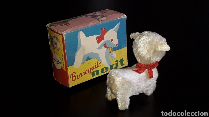 Juguetes antiguos: Artículo promocional, Detergente Norit el Borreguito, M.I. Mecánica Ibense, IBI, original años 60. - Foto 5 - 155184762