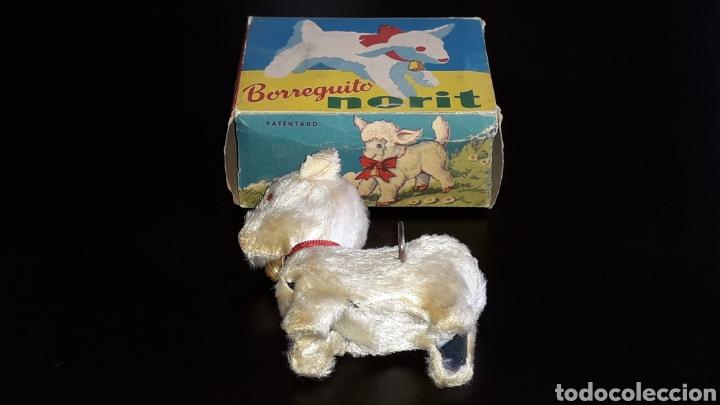 Juguetes antiguos: Artículo promocional, Detergente Norit el Borreguito, M.I. Mecánica Ibense, IBI, original años 60. - Foto 6 - 155184762