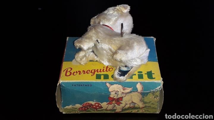 Juguetes antiguos: Artículo promocional, Detergente Norit el Borreguito, M.I. Mecánica Ibense, IBI, original años 60. - Foto 9 - 155184762