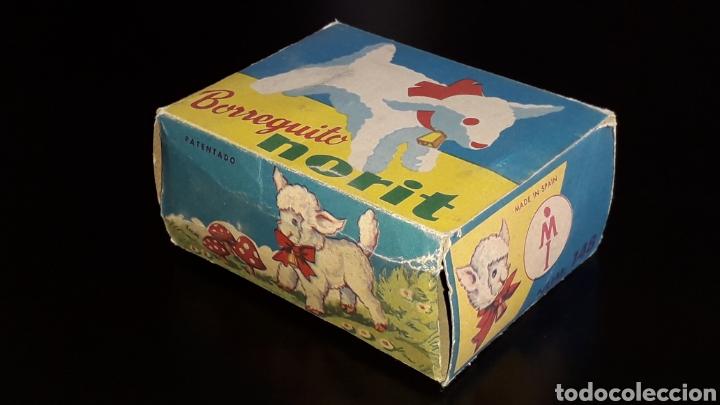 Juguetes antiguos: Artículo promocional, Detergente Norit el Borreguito, M.I. Mecánica Ibense, IBI, original años 60. - Foto 11 - 155184762
