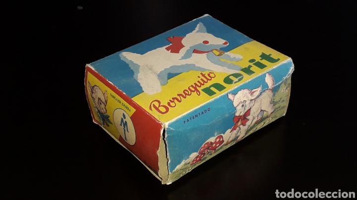 Juguetes antiguos: Artículo promocional, Detergente Norit el Borreguito, M.I. Mecánica Ibense, IBI, original años 60. - Foto 12 - 155184762