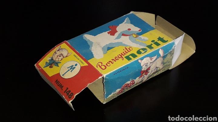Juguetes antiguos: Artículo promocional, Detergente Norit el Borreguito, M.I. Mecánica Ibense, IBI, original años 60. - Foto 13 - 155184762