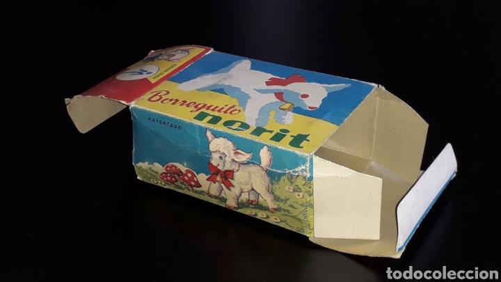 Juguetes antiguos: Artículo promocional, Detergente Norit el Borreguito, M.I. Mecánica Ibense, IBI, original años 60. - Foto 14 - 155184762