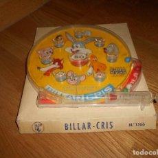 Giocattoli antichi: BILLAR CRIS PLASTICOS DE GALICIA PIMBALL JUEGO DE BOLAS AÑOS 70. Lote 155408158
