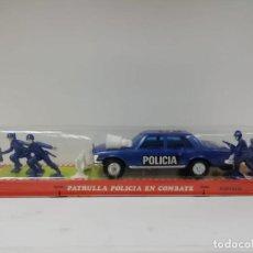 Juguetes antiguos: PATRULLA POLICIA COMBATE KARPAN AÑOS 70-80-ALMACEN. Lote 155514130