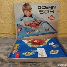 Juguetes antiguos: JUEGO OCEAN S.O.S DE CONGOST NUEVO A ESTRENAR EN SU CAJA ORIGINAL - REF.1604. Lote 155655534