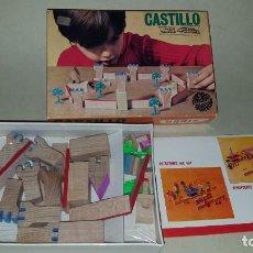 Juguetes antiguos: GOULA- CASTILLO- JUEGO CONSTRUCCION. Lote 155666214