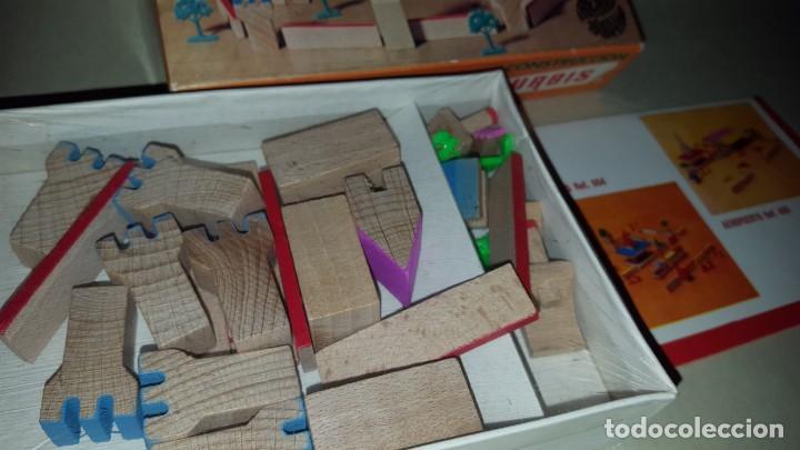 Juguetes antiguos: GOULA- CASTILLO- JUEGO CONSTRUCCION - Foto 2 - 155666214