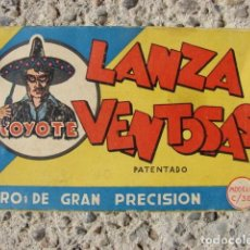 Juguetes antiguos: ANTIGUA PISTOLA LANZA VENTOSAS EL COYOTE. Lote 156568338