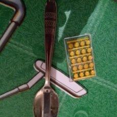 Juguetes antiguos: ANTIGUA CUCHARA CON PETARDO. Lote 195231537