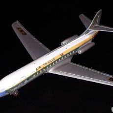 Juguetes antiguos: AVIÓN CARAVELLE AIR FRANCE SE 210 REF. 60F, DINKY SUPER TOYS MADE IN FRANCE, ORIGINAL AÑOS 50-60.. Lote 157780038