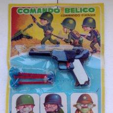 Juguetes antiguos - JUEGO COMANDO BELICO - HEDI - EN BLISTER SIN ABRIR - A ESTRENAR - ANTIGUO - 157836366