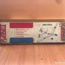 Juguetes antiguos: PLANEADOR DE NACORAL. Lote 158337565