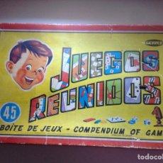 Juguetes antiguos: 45 JUEGOS REUNIDOS GEYPER. Lote 158573198